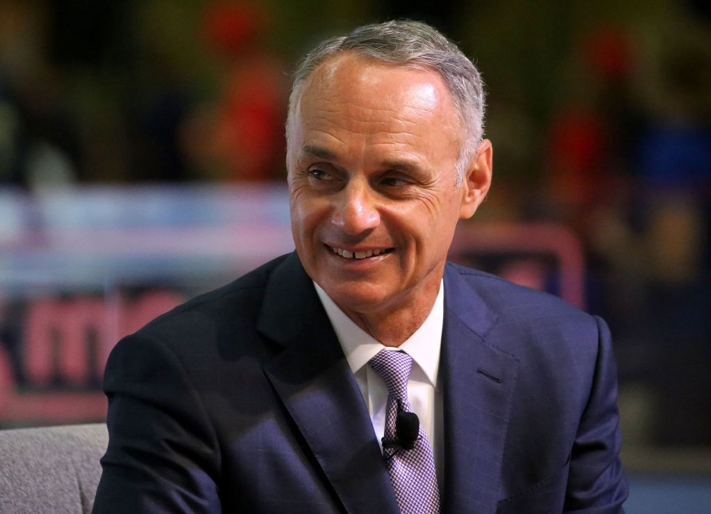 "MLB Commissioner Rob ""The Hammer"" Manfred"