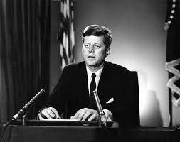 Image result for kennedy addresses the nation