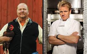 Image result for gordon ramsay mario batali