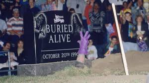 Image result for undertaker out of the grave