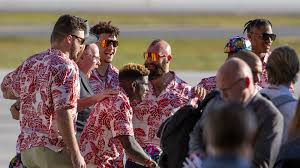 Image result for andy reid hawaiian shirt