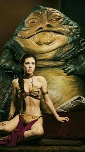 Image result for jaba and leia