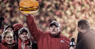 Image result for andy reid eating