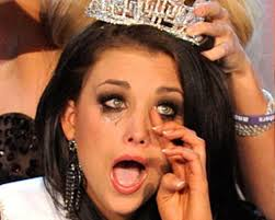 Image result for pageant queen crying