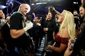 Image result for tyson fury wife